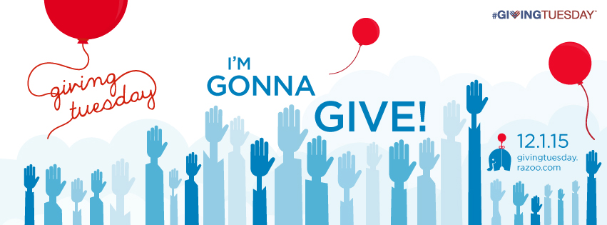 #GivingTuesday 12/1