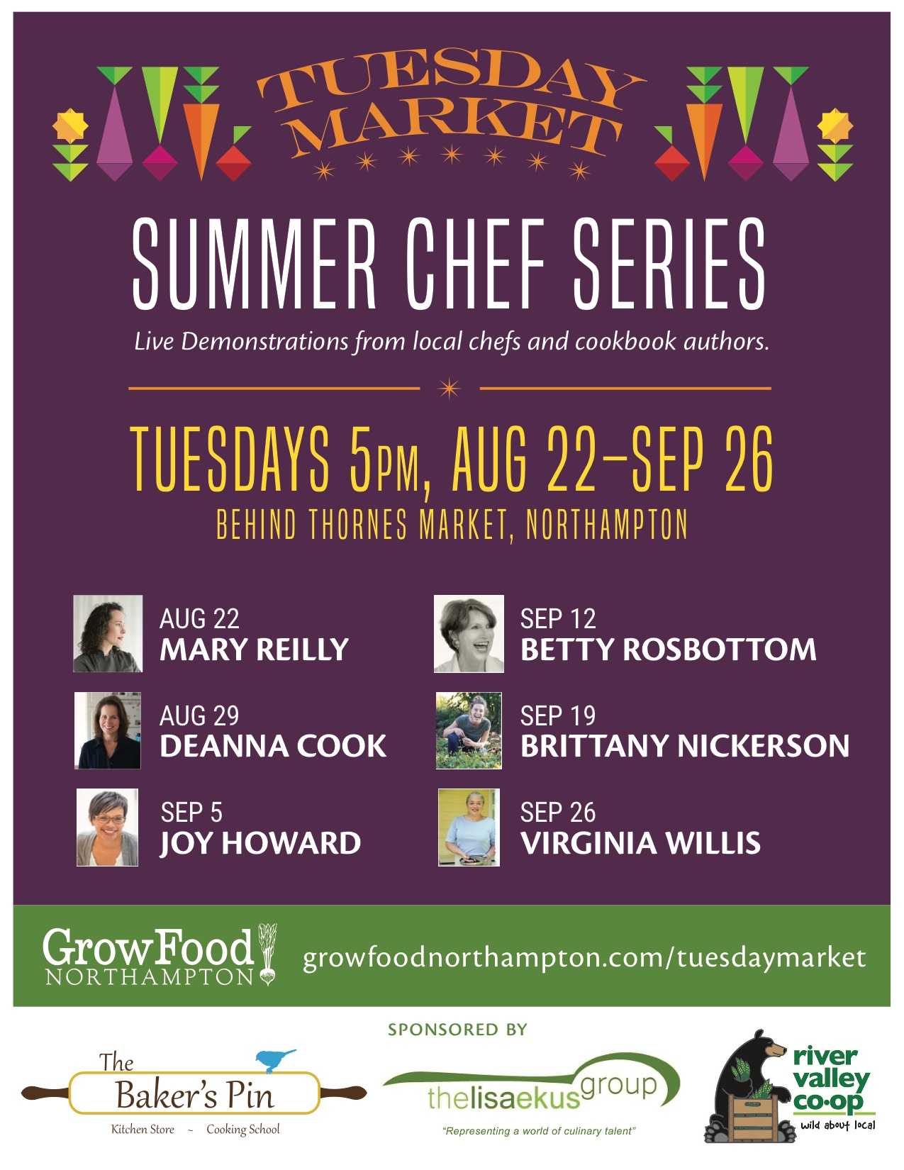 Tuesday Market Summer Chef Series