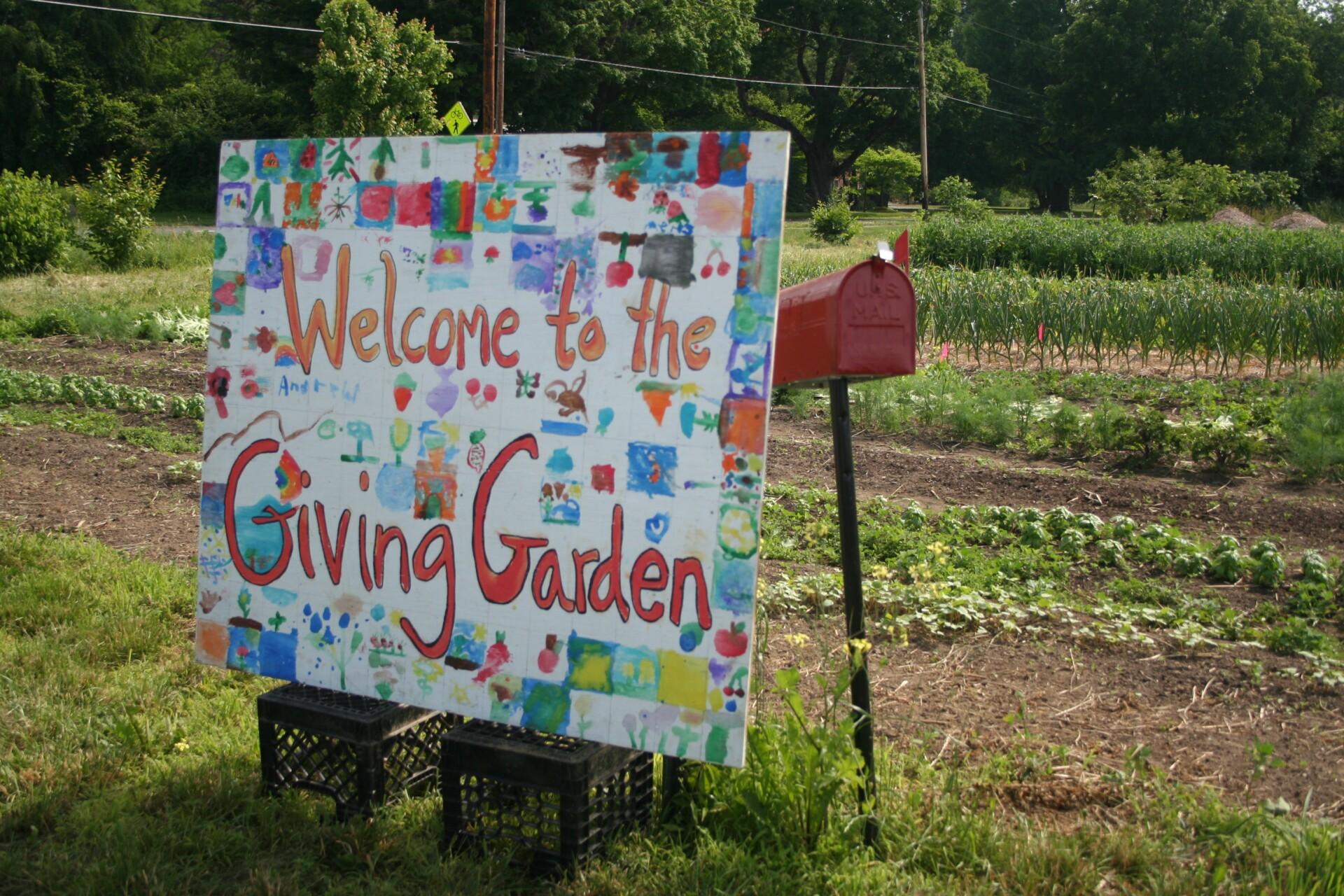 The 2018 Giving Garden