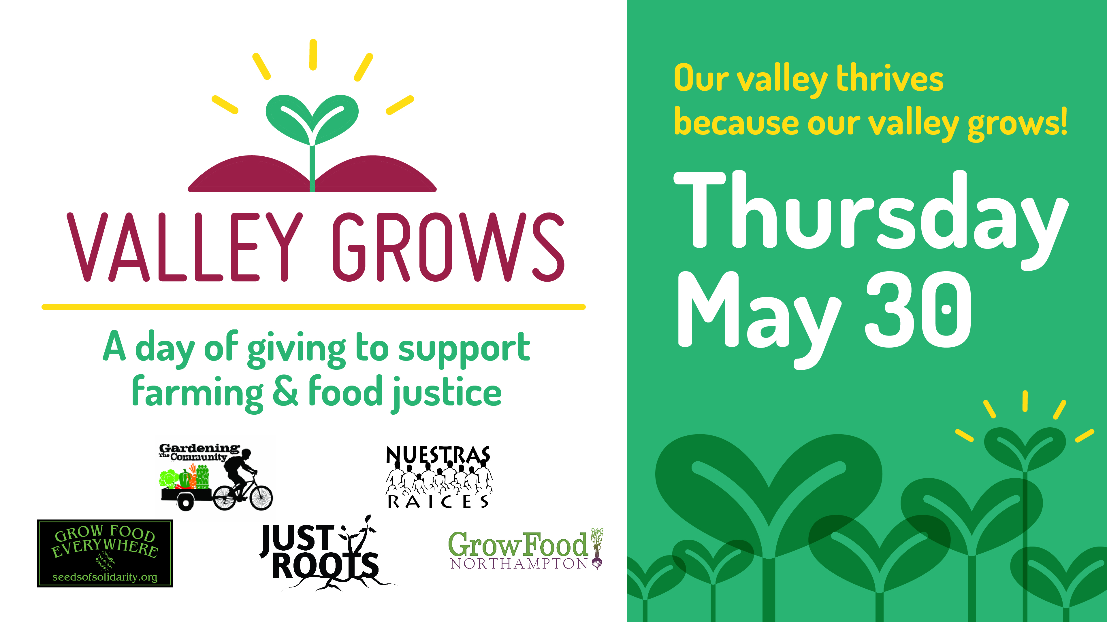 Valley Grows Day: Thank You!