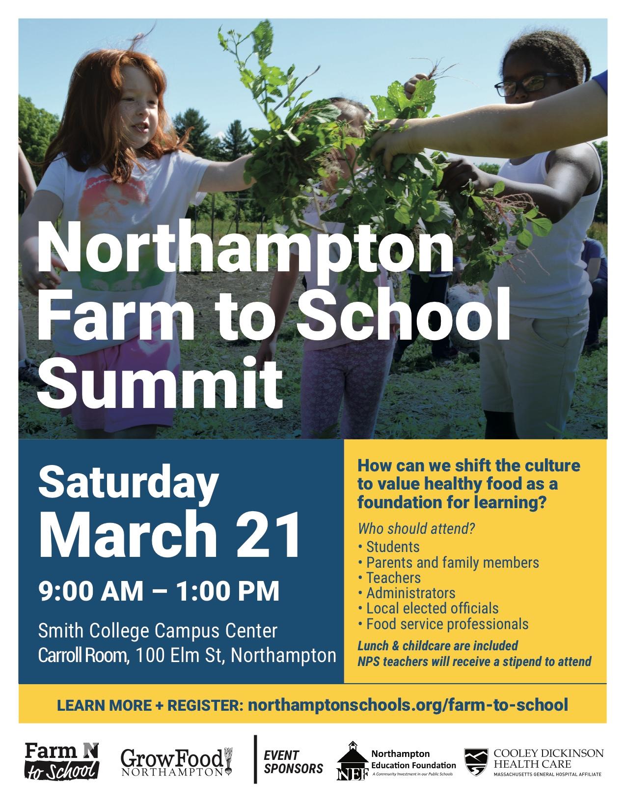 2nd Annual Farm To School Summit