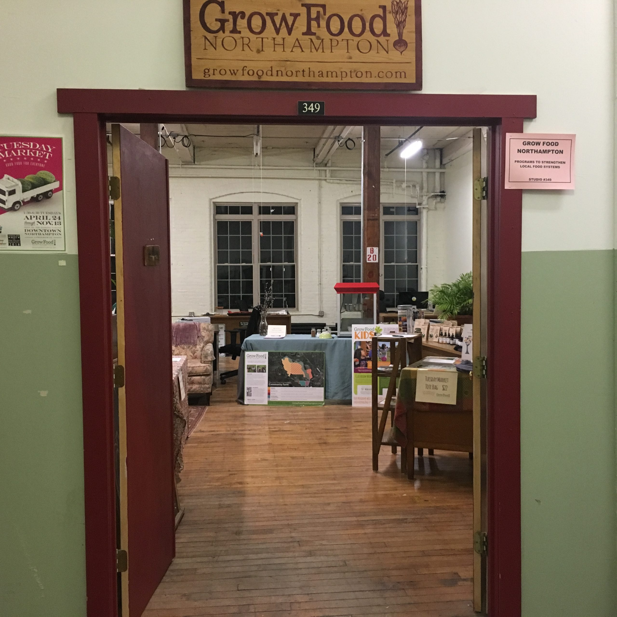 Meet And Greet Open House With Grow Food Northampton's New Executive Director, Alisa Klein