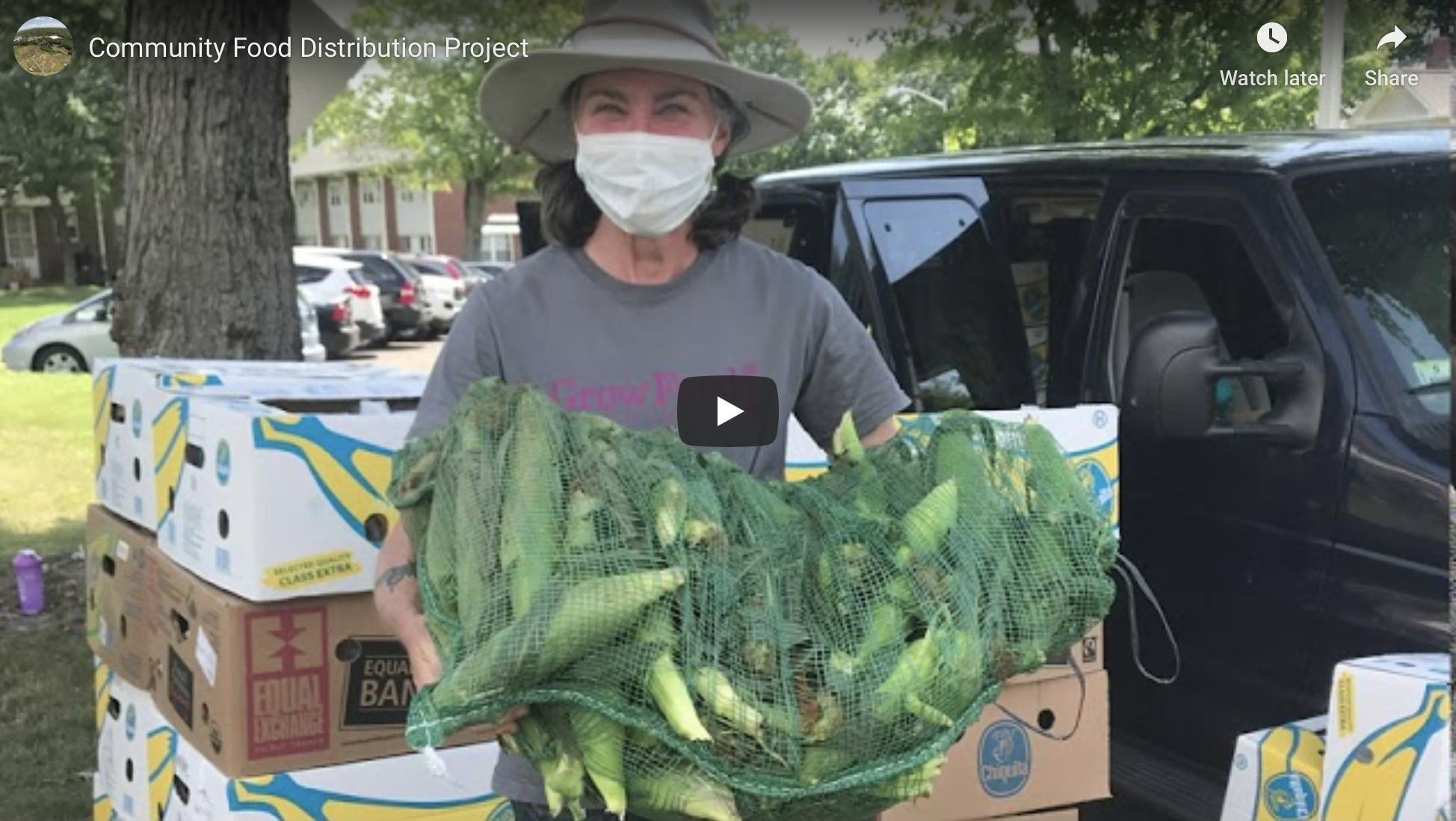Community Food Distribution Project Video